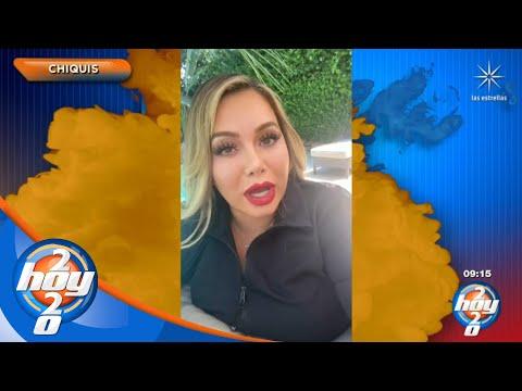 'Chiquis' Rivera vence al covid-19 | La Nube de Hoy