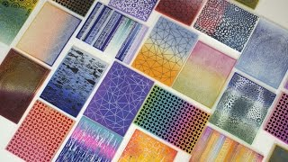 Sítotisk | Silkscreen | POLYMER CLAY TUTORIAL | Lucy Struncova