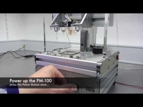 PCB test system controlled by Barth mini-PLC STG-500 | RS