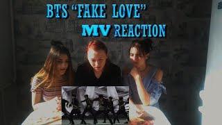 """[MV Reaction] BTS (방탄소년단) """"FAKE LOVE""""  / реакция на  BTS """"FAKE LOVE"""""""