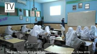 kelas biologi, Pelatihan Pra OSK 2016 MAN Tambakberas Jombang