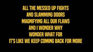 Scared To Be Lonely - Boyce Avenue Lyrics (Martin Garrix & Dua Lipa cover)