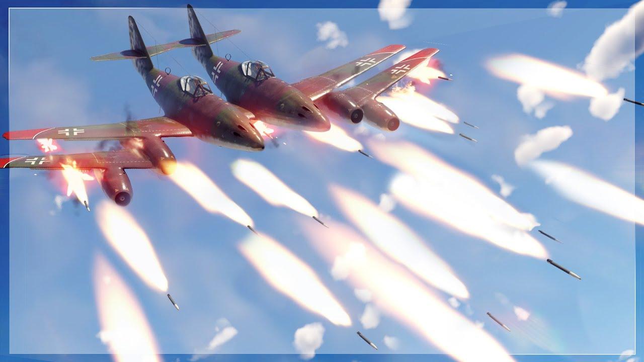 Download SO MANY ROCKETS | 🚀ME-262 AIR TO AIR BURST ROCKET 🚀