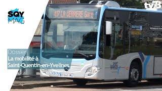 SQYMAG : Dossier – La mobilité à Saint-Quentin-en-Yvelines