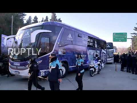 Argentina: Albiceleste return home to adoring fans and fireworks after Copa America victory