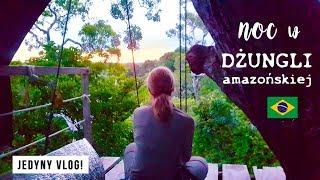 🌴 Śpię na drzewie w DŻUNGLI amazońskiej! 😱 Smakuj Życie #7 | Agnieszka Grzelak Vlog