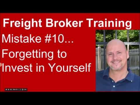 Freight Broker Training - Mistake #10 to Avoid!
