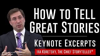 How to Turn Your Personal Experiences into Unforgettable Stories [Keynote Clips]