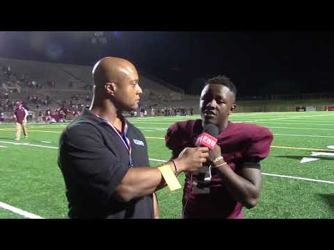 Plano Senior High Runningback Kyron Cumby 9 15 2017