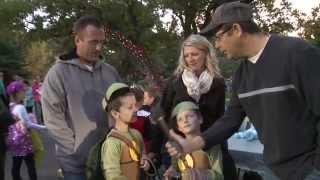 Crowd Surfing Dinosaur Park Halloween Carnivore Carnival