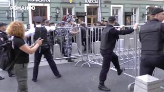 Фрагменты #митинг9сентября