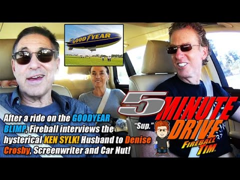 5MINUTE DRIVE Denise Crosby & The Goodyear Blimp Part 2 Ep43