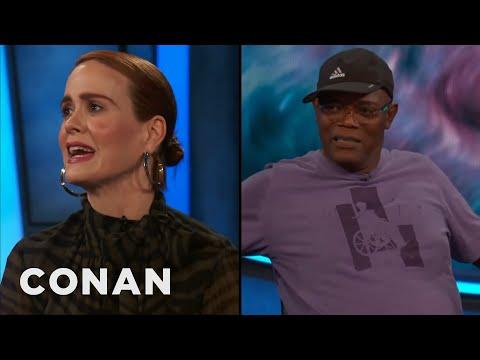 Sarah Paulson & Samuel L. Jackson Swore Up A Storm On The Set Of