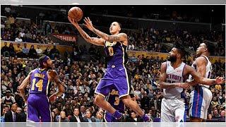 NBA media reacts to Kyle Kuzma's explosion vs. Pistons