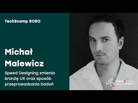 Tech3camp#70 (UX/UI): Michał Malewicz - Speed Designing zmienia branżę UX oraz sposób...
