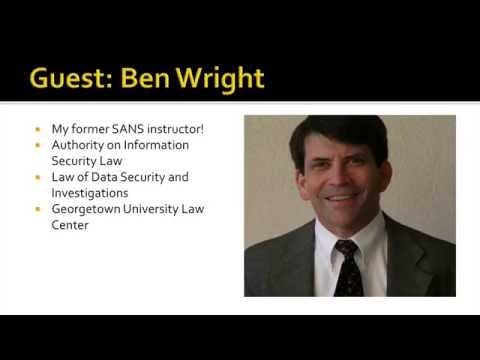 Information Security Law and Your Career