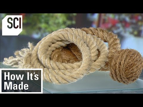 How to Make Rope | How It's Made