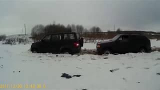 покатушки УАЗ Патриот и Opel Frontera A