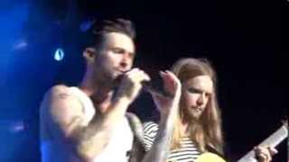 Maroon 5, She Will Be Loved, Nikon at Jones Beach Theater, Jones Beach, NY 8/11/13 #hondacivictour