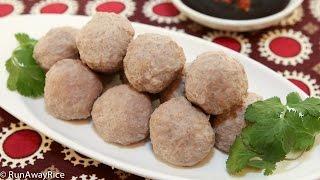 Beef Meatballs (bo Vien)