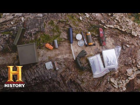 Alone: Survival Hacks: DIY Tiny Survival Kit | History