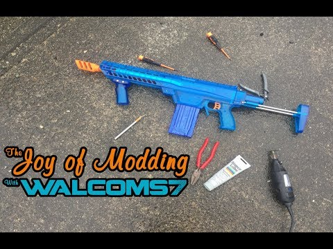 WORKER Prophecy NERF Blaster || Complete Mod Guide (The Joy of Modding)