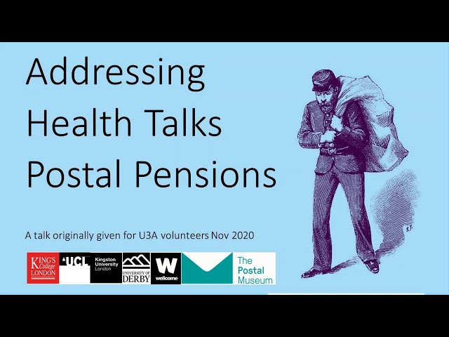 U3A Our 1901 Postal Pensioners SLP: A short talk on the history of pensions in the Post Office