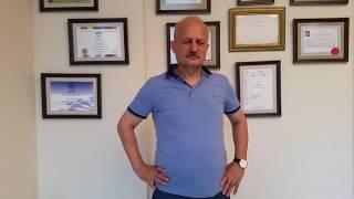 PROF. DR. ORHAN ŞEN'İN YAPTIĞI AMELİYATTAN 1 GÜN SONRA AYAĞA KALKTI !