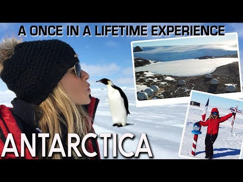 ANTARCTICA!! 🐧❄️💙 The South Pole, Emperorer Penguins, Ice Caves!! TRAVEL VLOG 📹