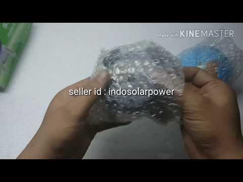 Globe display kaki hitam indosolarpower