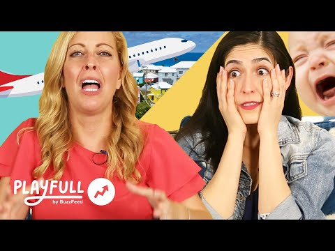 Parents Reveal Their Worst Stories Traveling With Kids