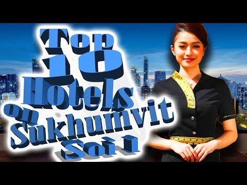 Top 10 Hotels on Sukhumvit Soi 1 in Bangkok