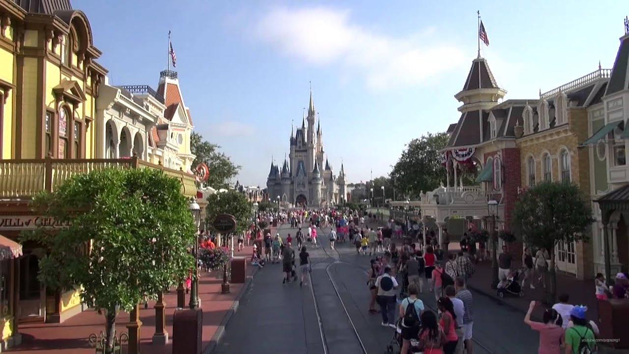 main street usa at the magic kingdom from the omnibus walt disney