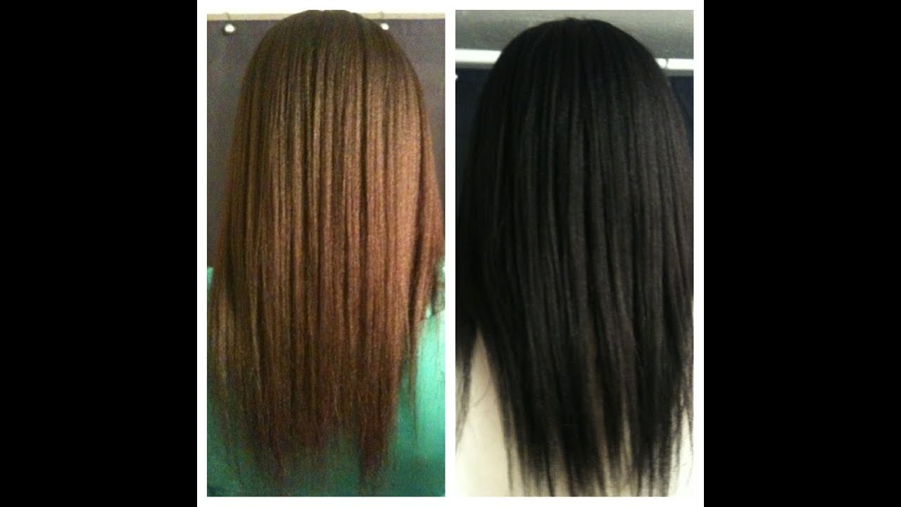 Dye Hair Black NATURALLY with Henna & Indigo Powder - YouTube