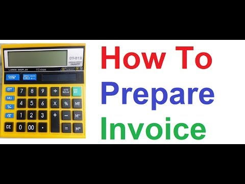 How to Prepare Sales Invoice with GST Tax and Discount on Non Financial Normal Calculator
