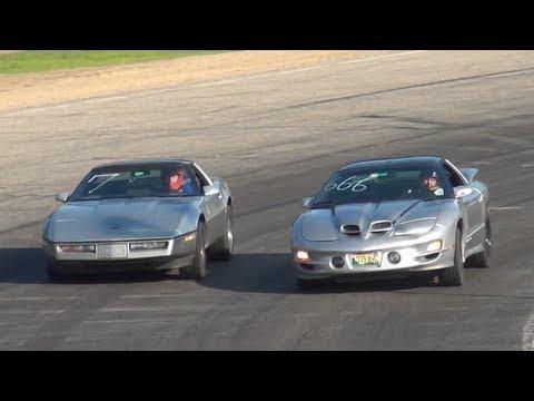 Firebird Trans Am WS6 VS Chevy Corvette C4 (Spectator Drags)
