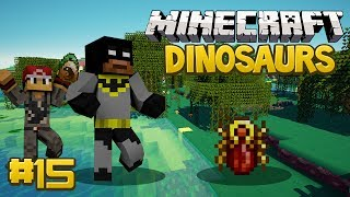 Minecraft Dinosaurs Mod (Fossils and Archaeology) Series, Episode 15 - OMG 1ST SCARAB GEM!