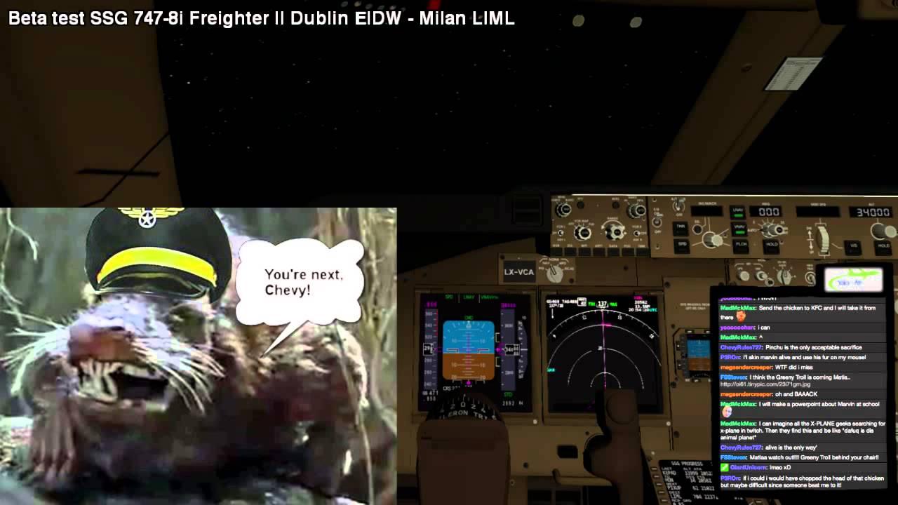 [Stream Highlights] SSG 747-8i Beta Test | The Marvin Incident | X-Plane  10 30