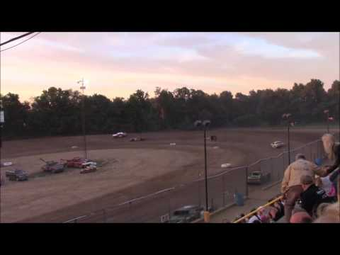 Butler Motor Speedway Street Stock B-Main 7/2/16