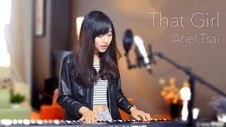 Olly Murs【That Girl】- Ariel Tsai 蔡佩軒 Cover - Tik Tok 抖音熱門