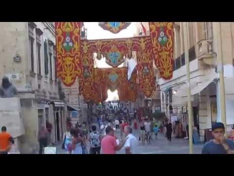 REPUBLIC STREET in VALLETTA - MALTA