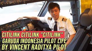 "Citilink Citilink ""Citilink"" Garuda Indonesia Pilot Life"