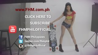 Myrtle Sarrosa Wants You To Subscribe To FHM Philippines!