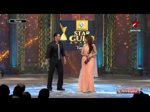 Salman Khan Flirting With Katrina Kaif On Live Show