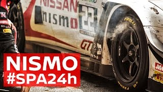 NISMO GT-R's take on the brutal Spa 24 Hours - 2016 #Spa24h