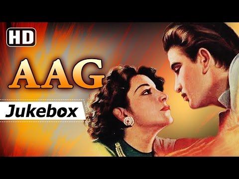 Aag (1948) Songs [HD] - Raj Kapoor - Nargis - Premnath - Ram Ganguli Hits