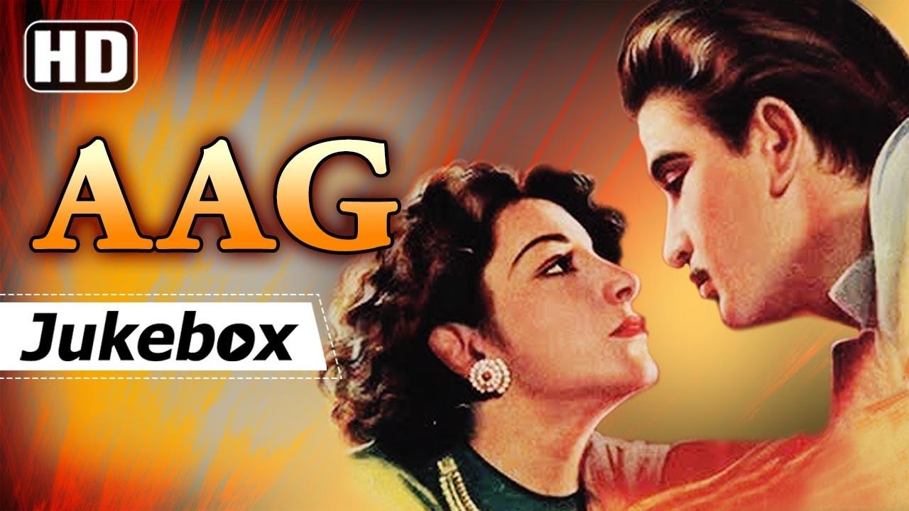 Aag Movie Raj Kapoor Songs