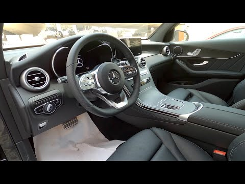 استعراض مواصفات مرسيدس Glc 300 كوبيه 2021 Mercedes Glc 300 Coupe Youtube