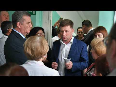 Рабочая поездка губернатора Хабаровского края Сергея Фургала в г. Комсомольск-на-Амуре и Амурский р