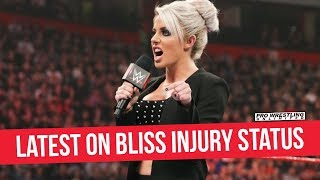 Latest On Alexa Bliss' Injury Status, Could Be A While Before Cleared